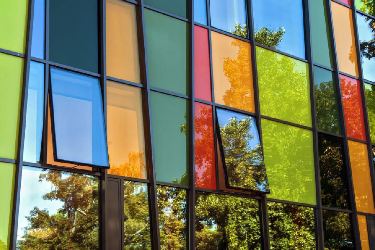 Coloured Aluminium Windows Wiltshire